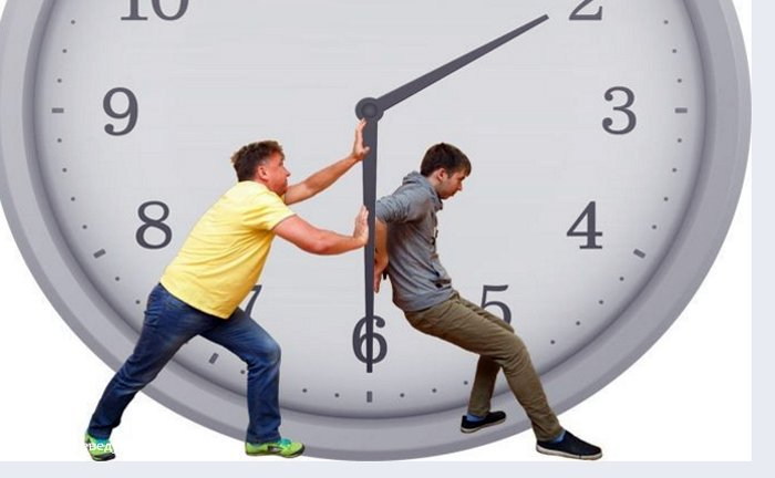 Нас начнут агитировать за сохранение или перевод времени с 17 февраля